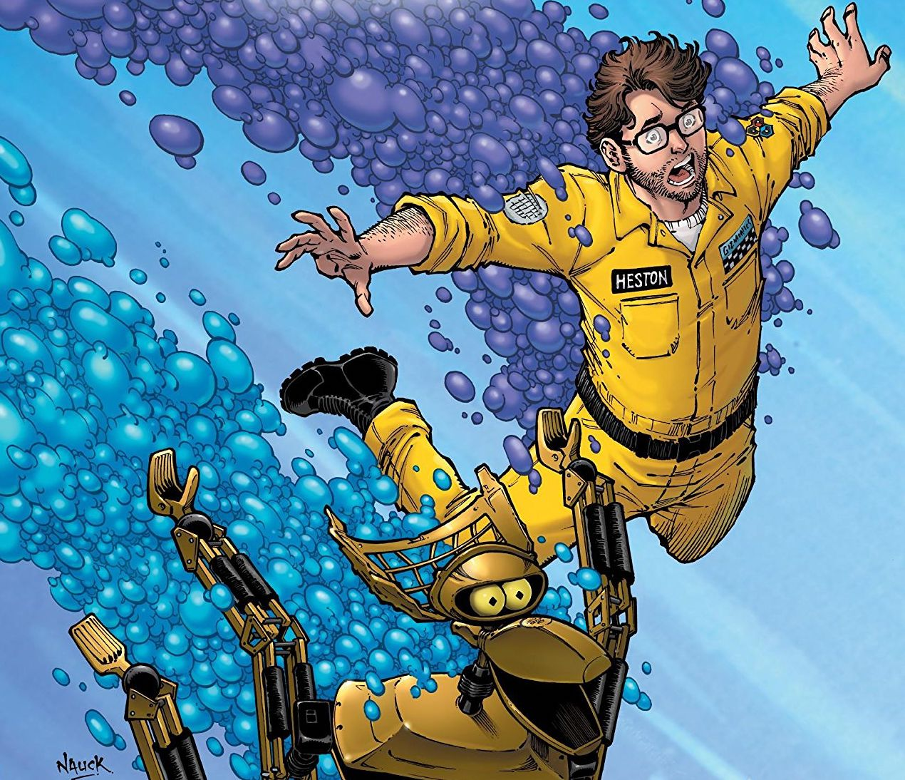 'Mystery Science Theater 3000: The Comic' faces some stumbles in a new medium