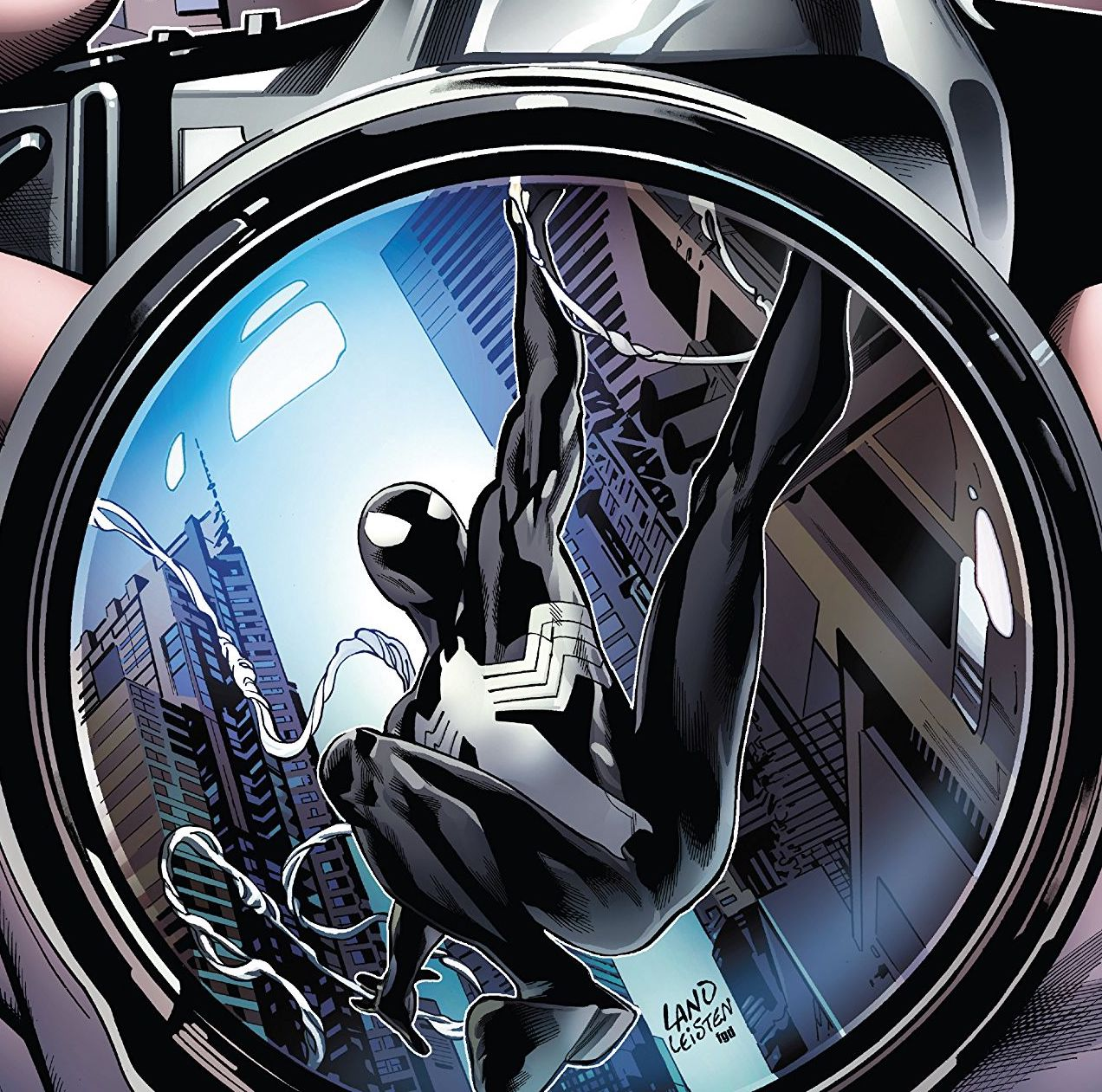 Only in comics could you explore the life of a character who wore the Symbiote for a matter of minutes.