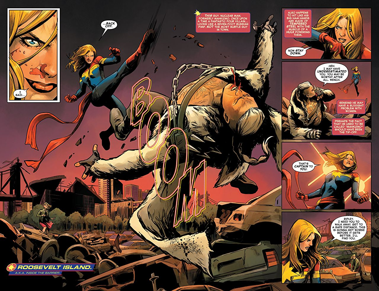 Kelly Thompson and Carmen Carnero deliver a high-octane starting point for Carol Danvers' new run of adventures.