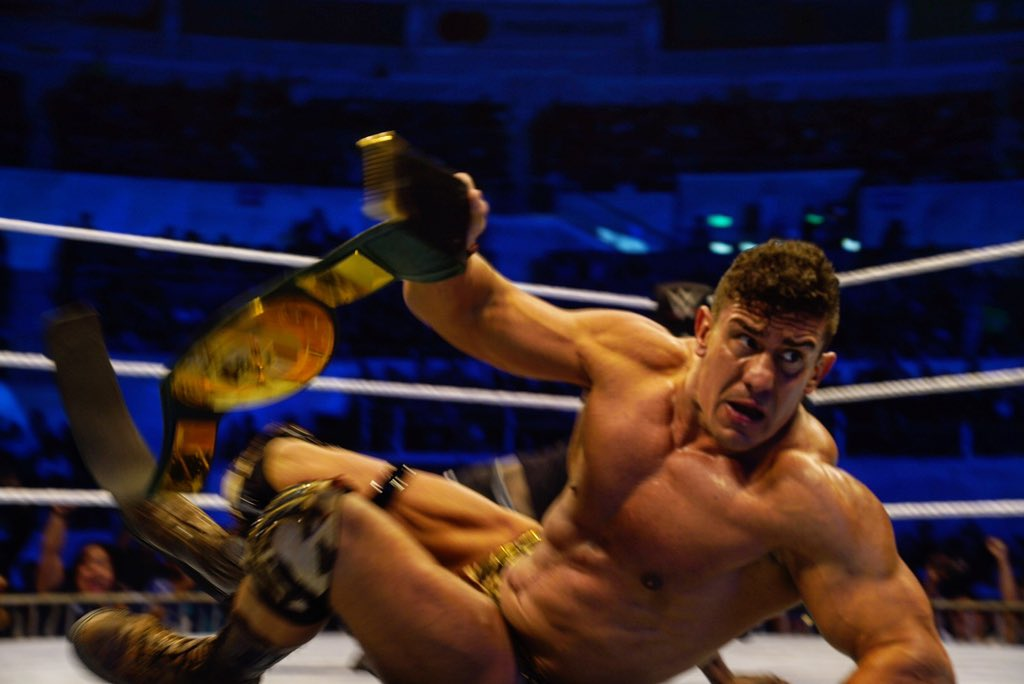 EC3 once again captures the WWE 24/7 championship