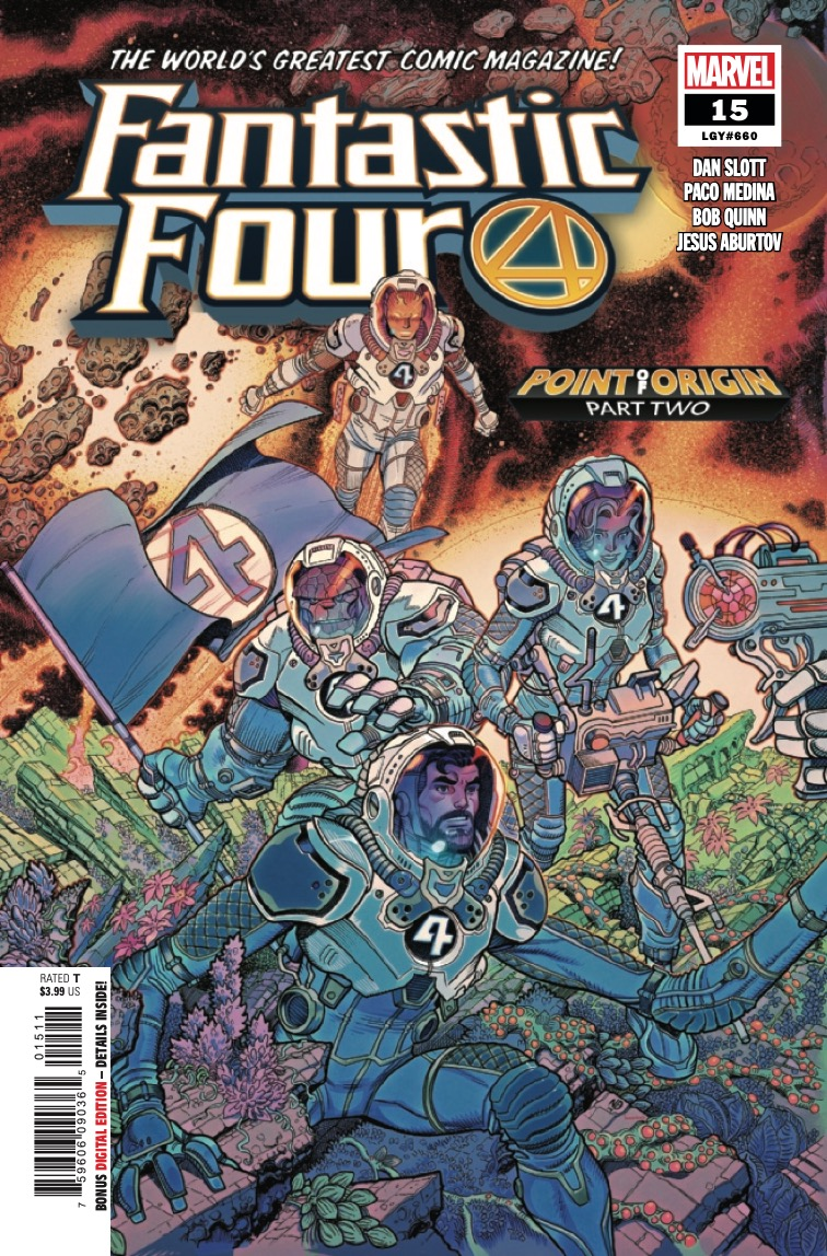 Marvel Preview: Fantastic Four #15