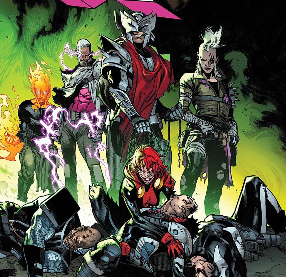 'X-Force Vol. 2: The Counterfeit King' tpb Review