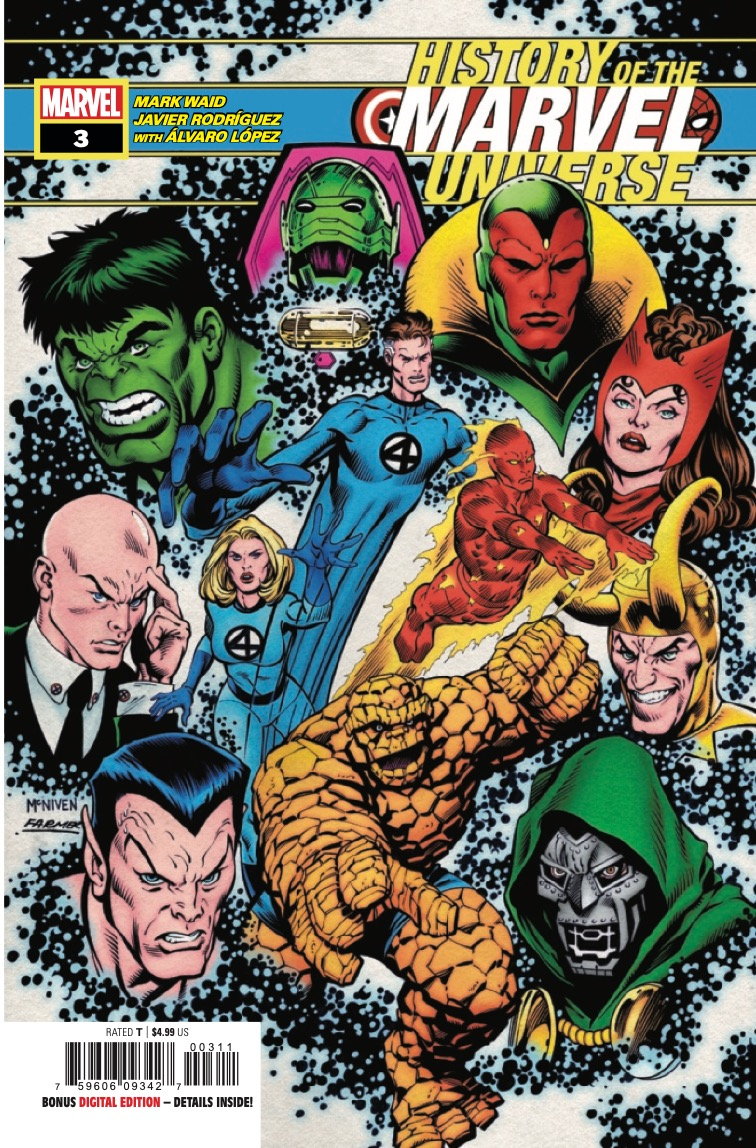 From the Fantastic Four to the Death of Phoenix, witness the awe and majesty of the beginnings of the Modern Marvel Universe!