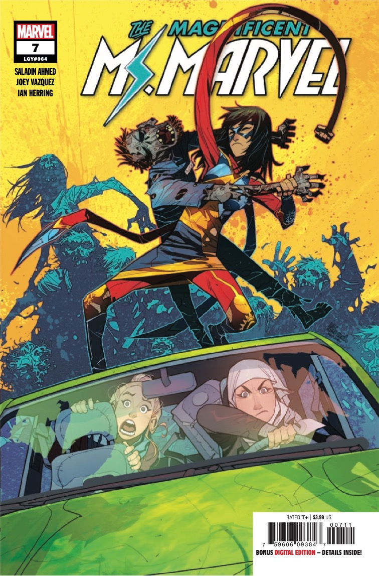 Marvel Preview: Magnificent Ms. Marvel #7