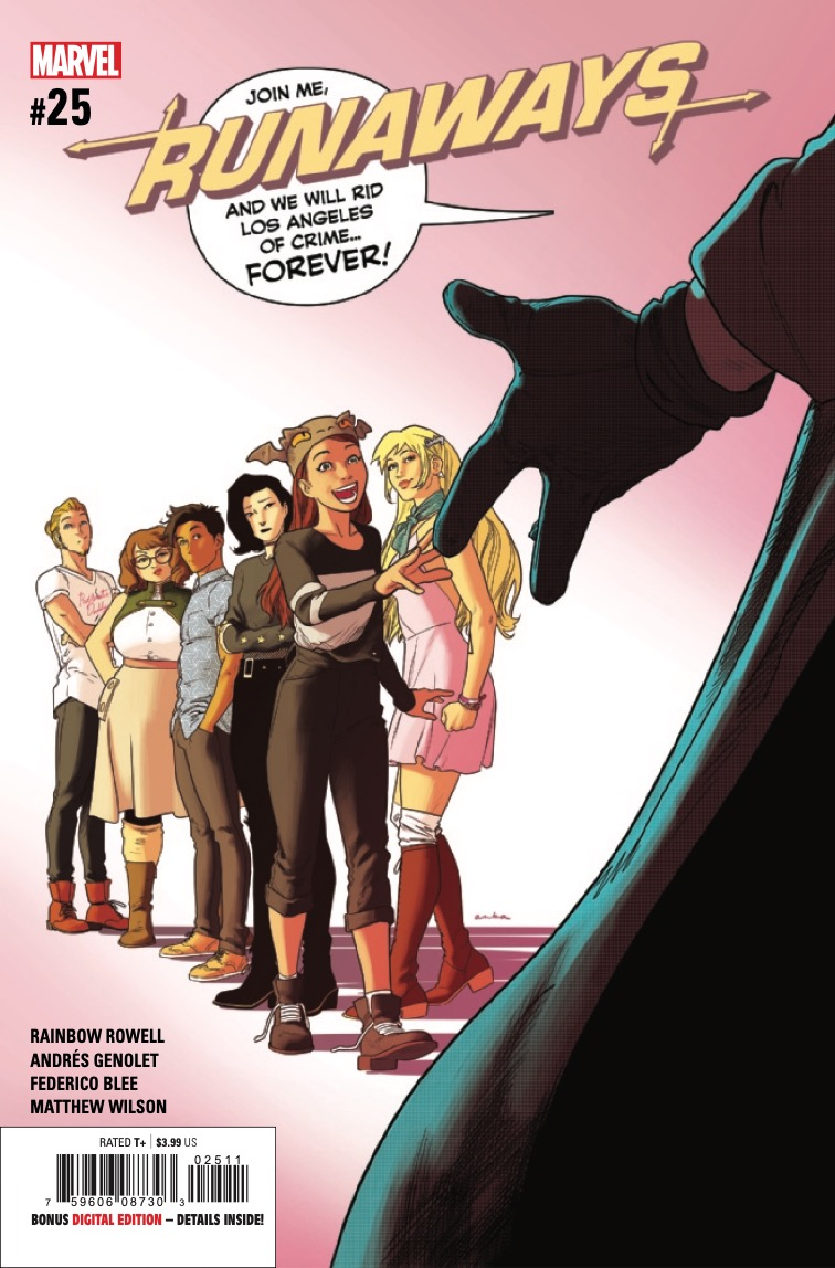 Marvel Preview: Runaways #25