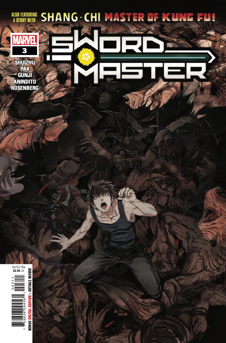 Sword Master and SHANG-CHI face an entirely different God of War in a conflict that could precipitate a massive shift of power!