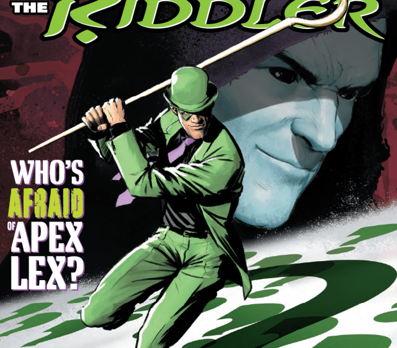 Riddler may be changed forever from this story.