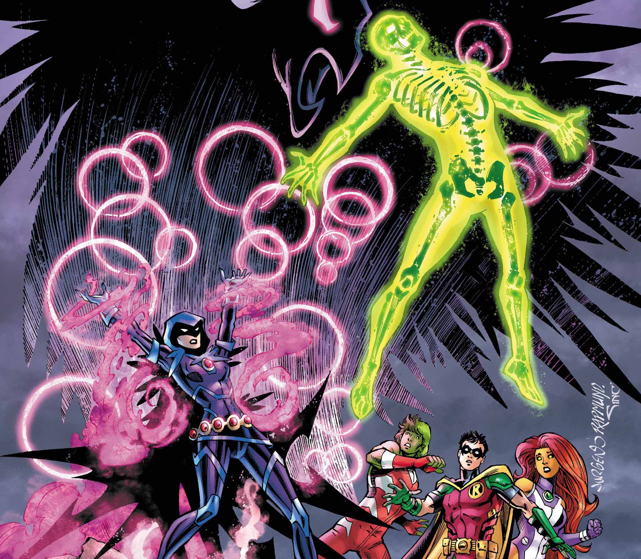 EXCLUSIVE DC Preview: Titans Burning Rage #2