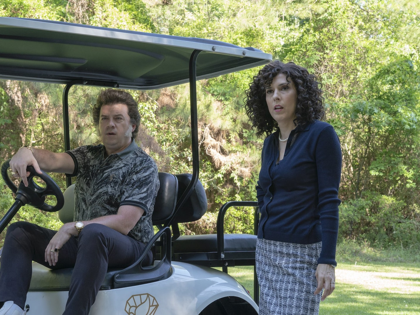 Edi Patterson discusses writing and acting in 'The Righteous Gemstones'