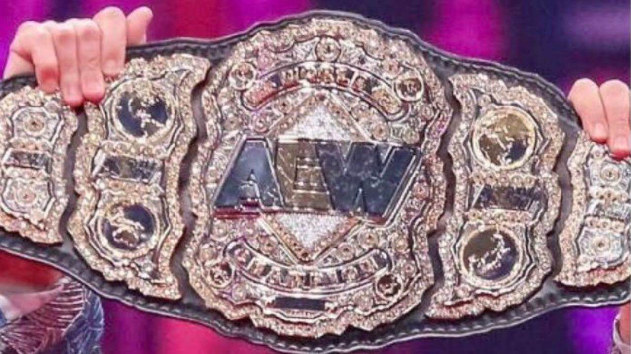 The AEW World Championship has been stolen from Chris Jericho