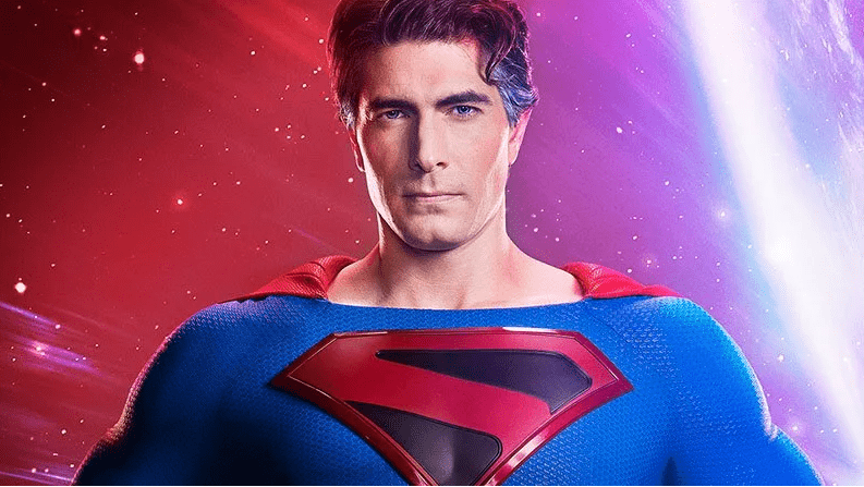 First look at Brandon Routh as Crisis on Infinite Earth's Superman