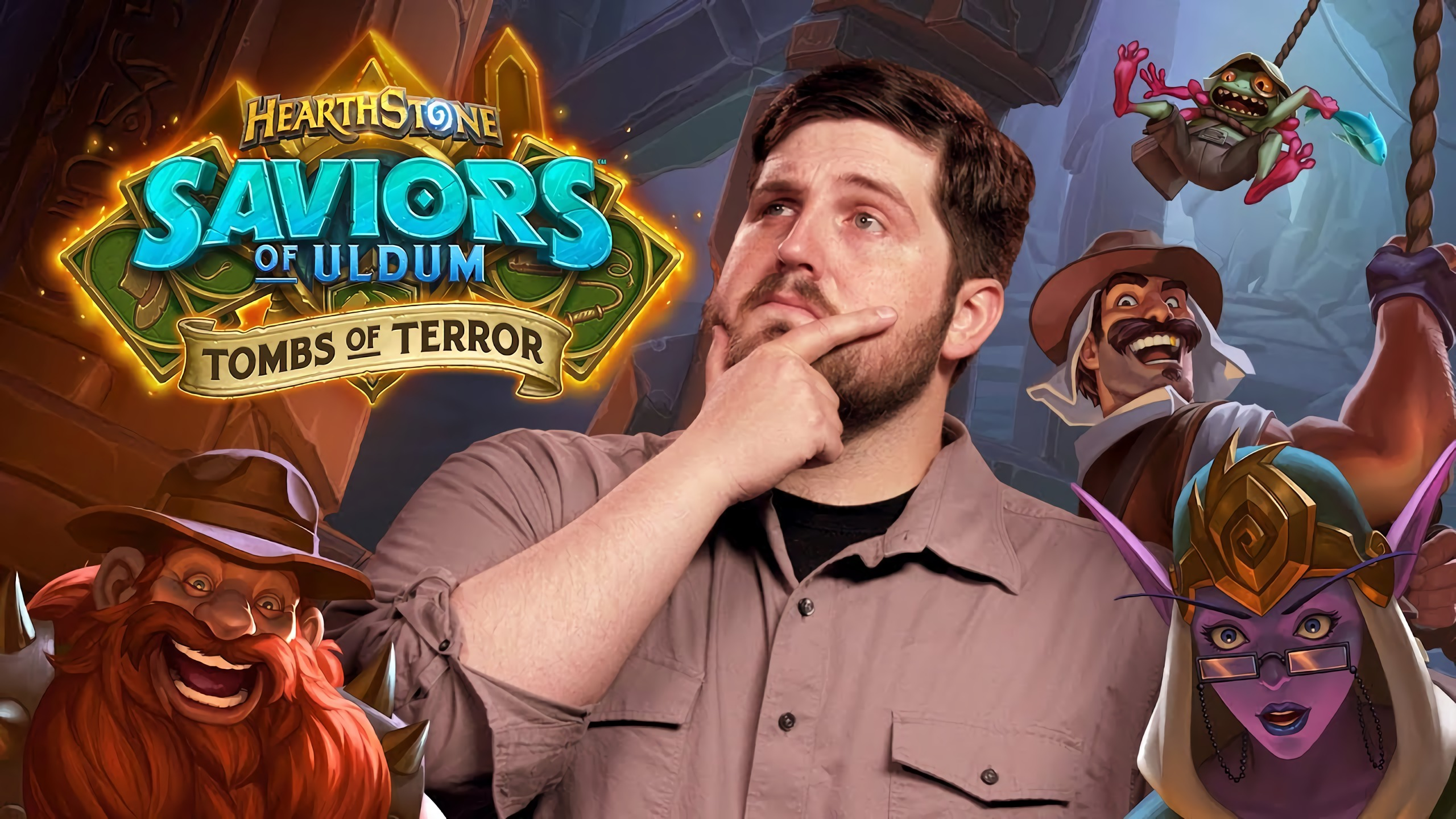 Hearthstone: Saviors of Uldum: Newest solo adventure, Tombs of Terror now available for pre-purchase