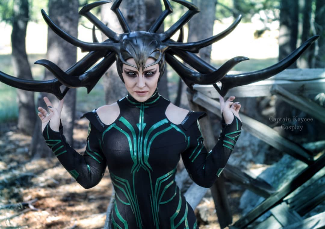Thor: Ragnarok: Hela cosplay by Captain Kaycee