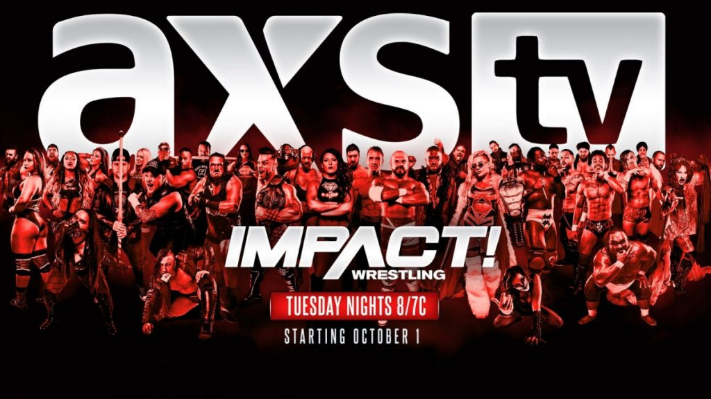 Impact wrestling moving to Tuesday nights on AXS TV