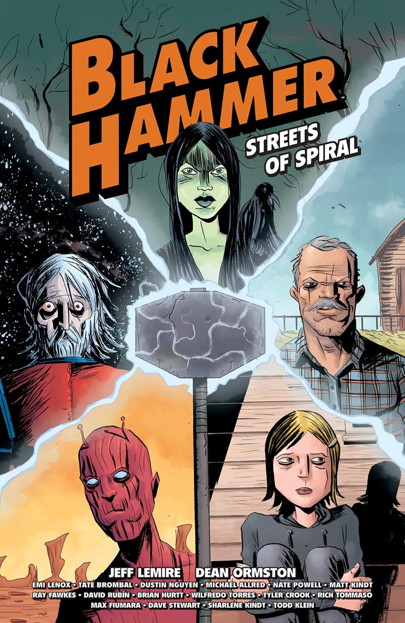 'Black Hammer: Streets of Spiral' TPB review: Come for the extras, stay for the epic parody