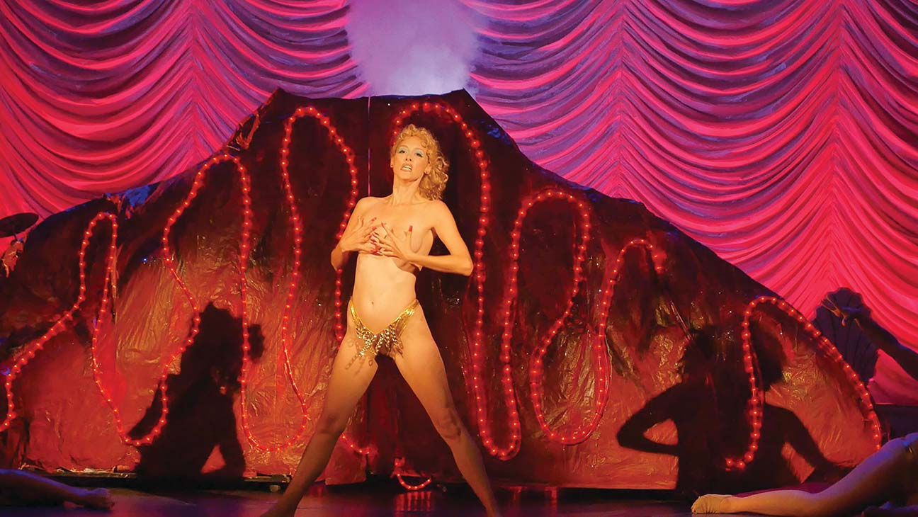 You Don't Nomi is a documentary about one of the most infamous movies of all time. When Showgirls was released in 1995, controversy and interest was high. The film ended up being a commercial and critical bomb, pretty much ending the career of Star Elizabeth Berkley. So what makes it so popular today?