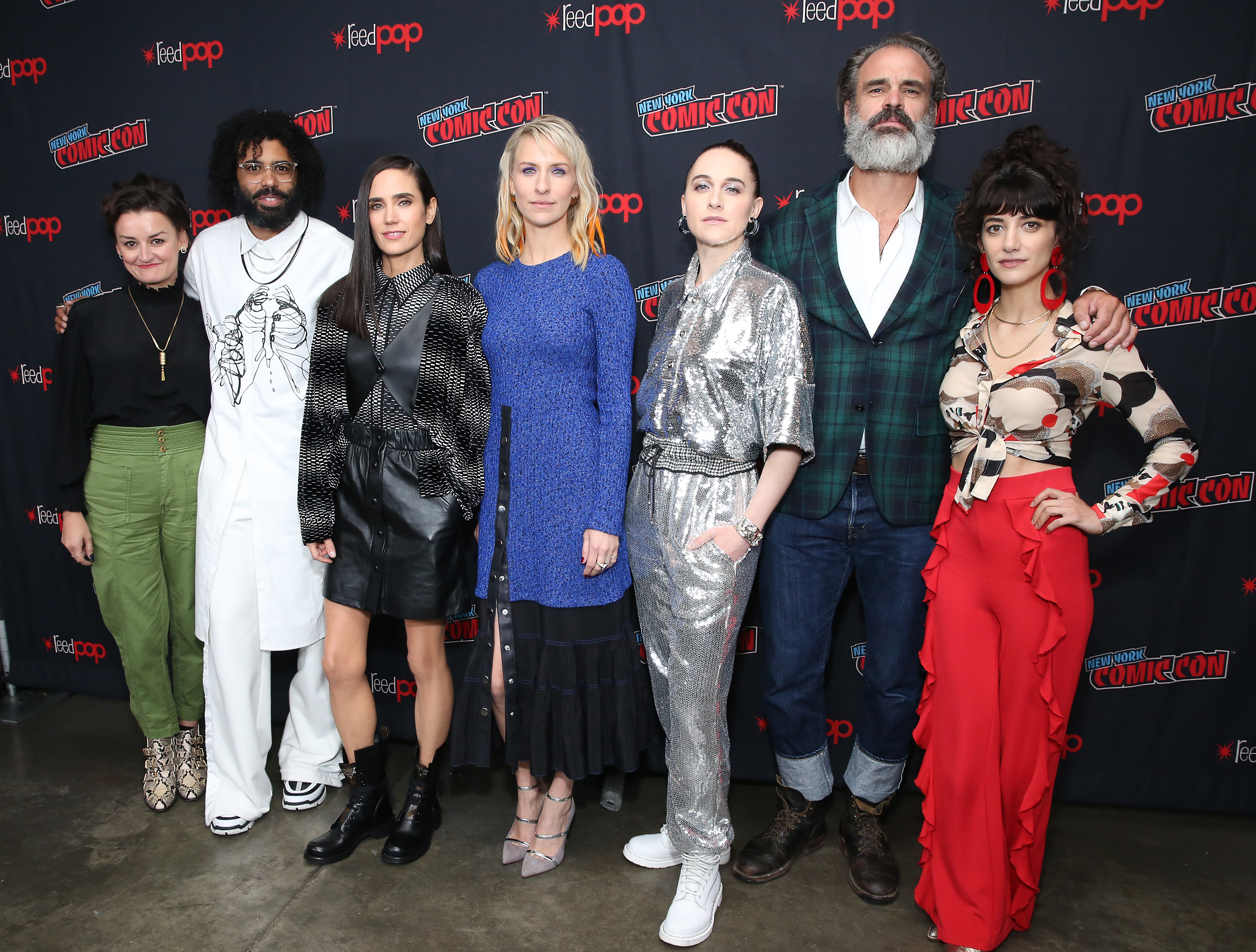 Jennifer Connelly and the cast of TNT's 'Snowpiercer' talk class warfare after the world freezes over