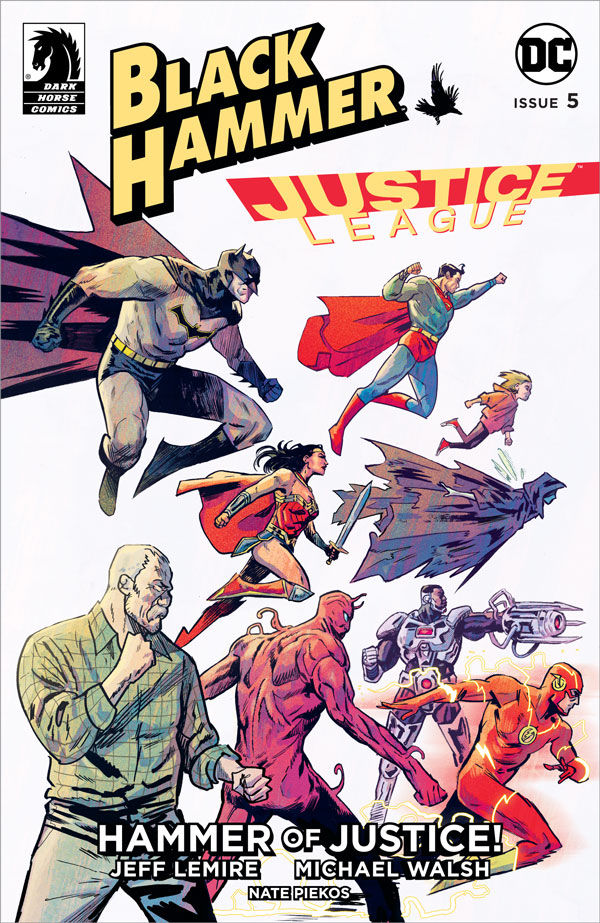 EXCLUSIVE Dark Horse Preview: Black Hammer/ Justice League #5