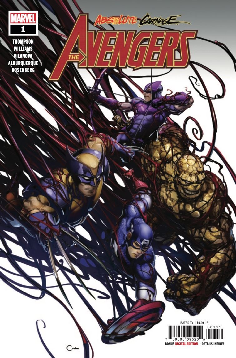 Marvel Preview: Absolute Carnage: Avengers #1
