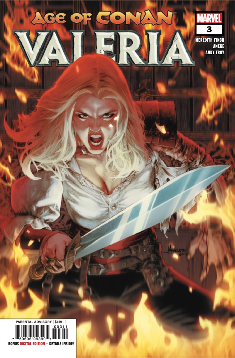 Marvel Preview: Age Of Conan: Valeria #3