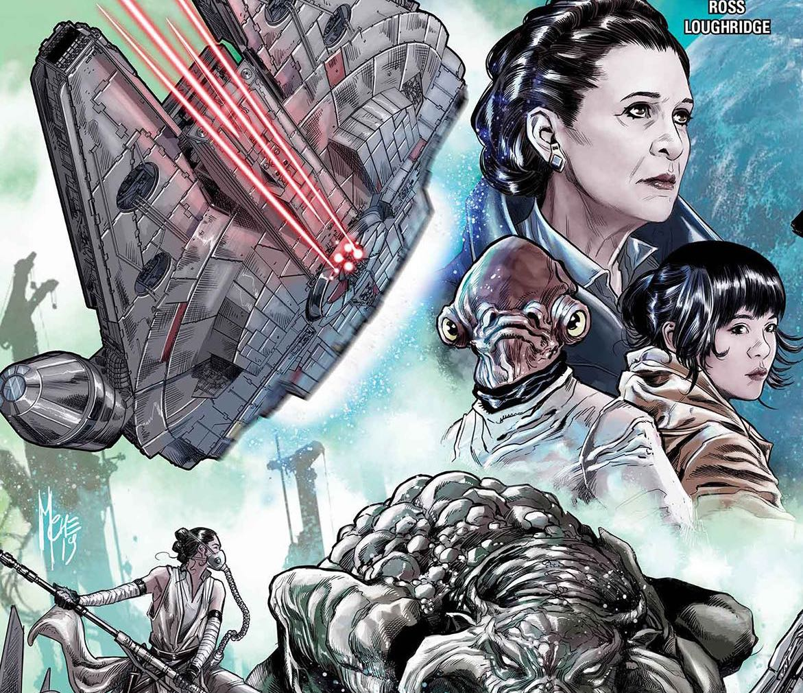 Journey to Star Wars: The Rise Of Skywalker – Allegiance #1 Review