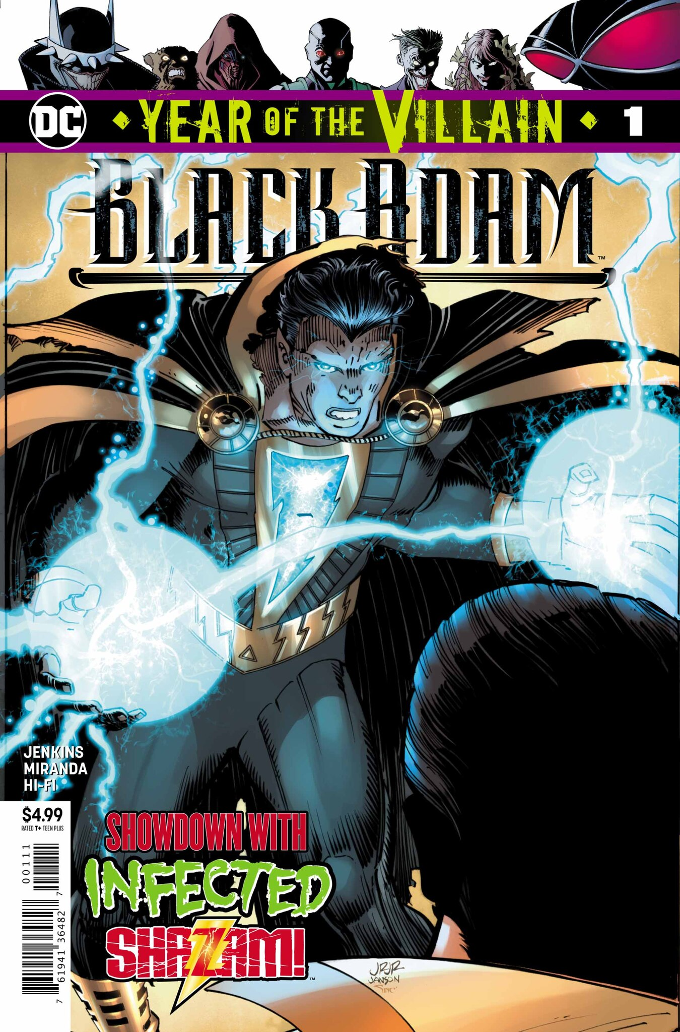 Black Adam: Year of the Villain #1 review