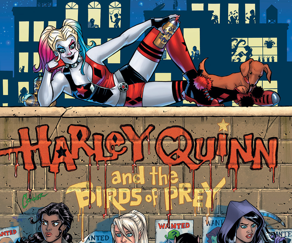 Harley Quinn and The Birds of Prey is an official sequel to Conner and Palmiotti's bestselling run.