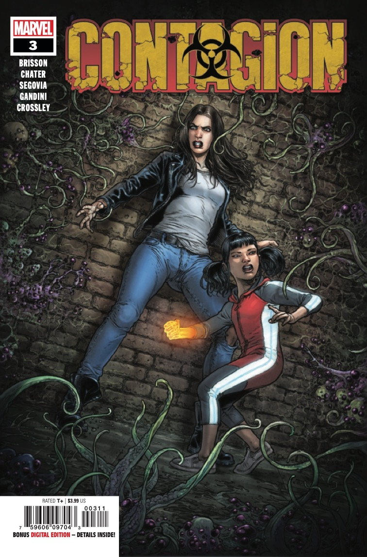Marvel Preview: Contagion #3