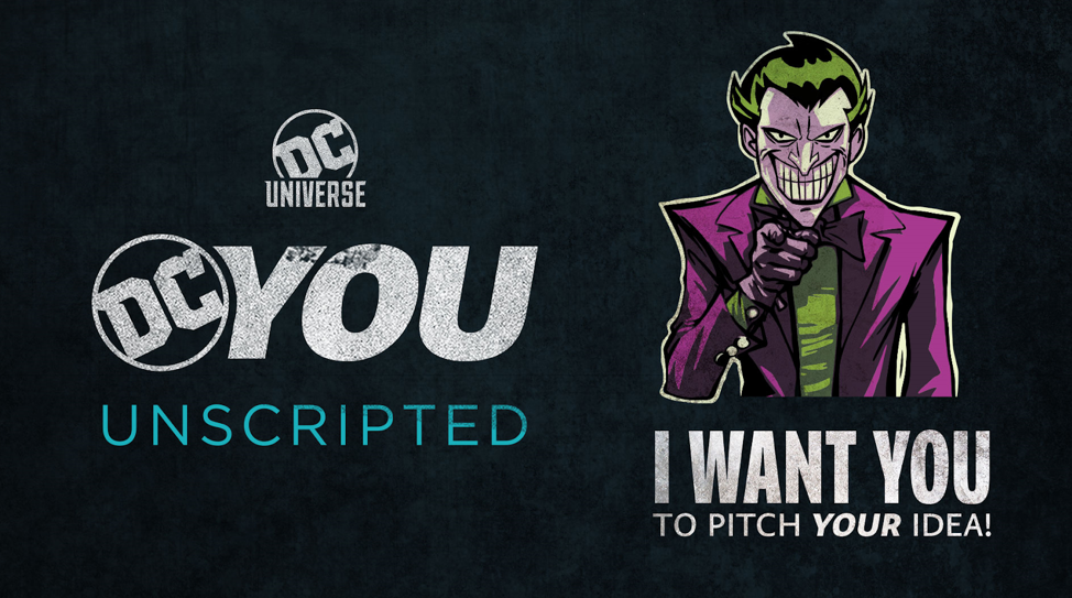 DC UNIVERSE calls on fans to pitch their own TV show
