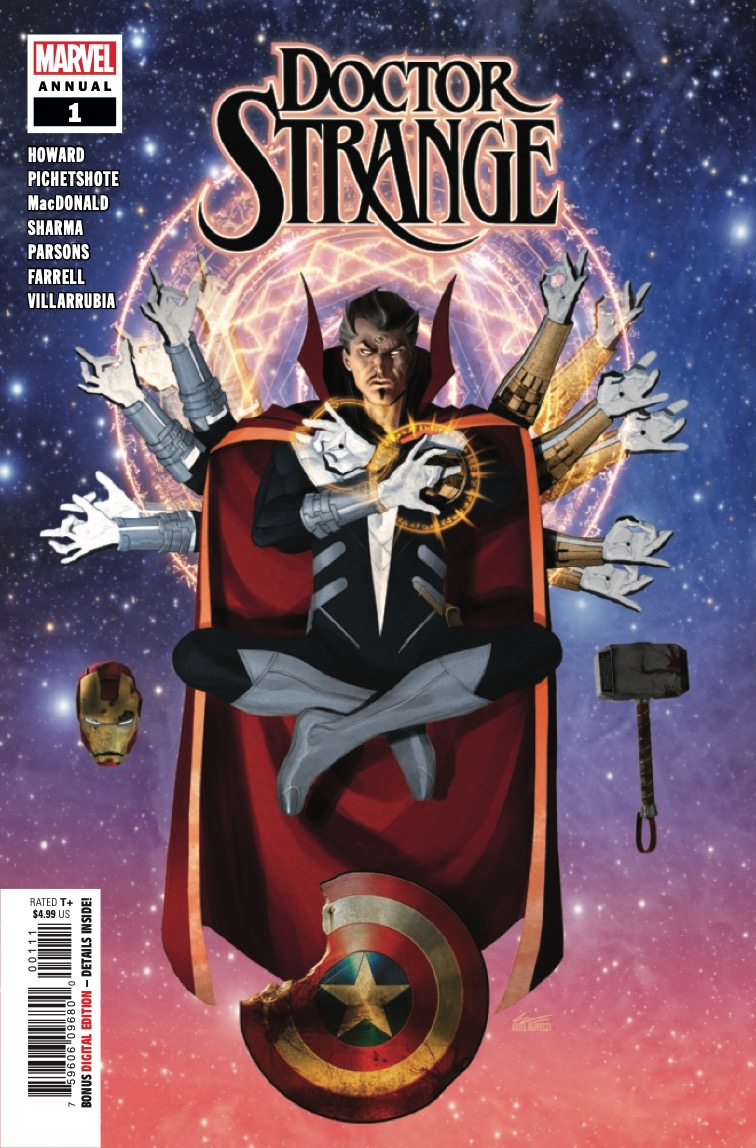 One of Doctor Strange's dark relics in the Sanctum Sanctorum has come to life. And only he can stop it!