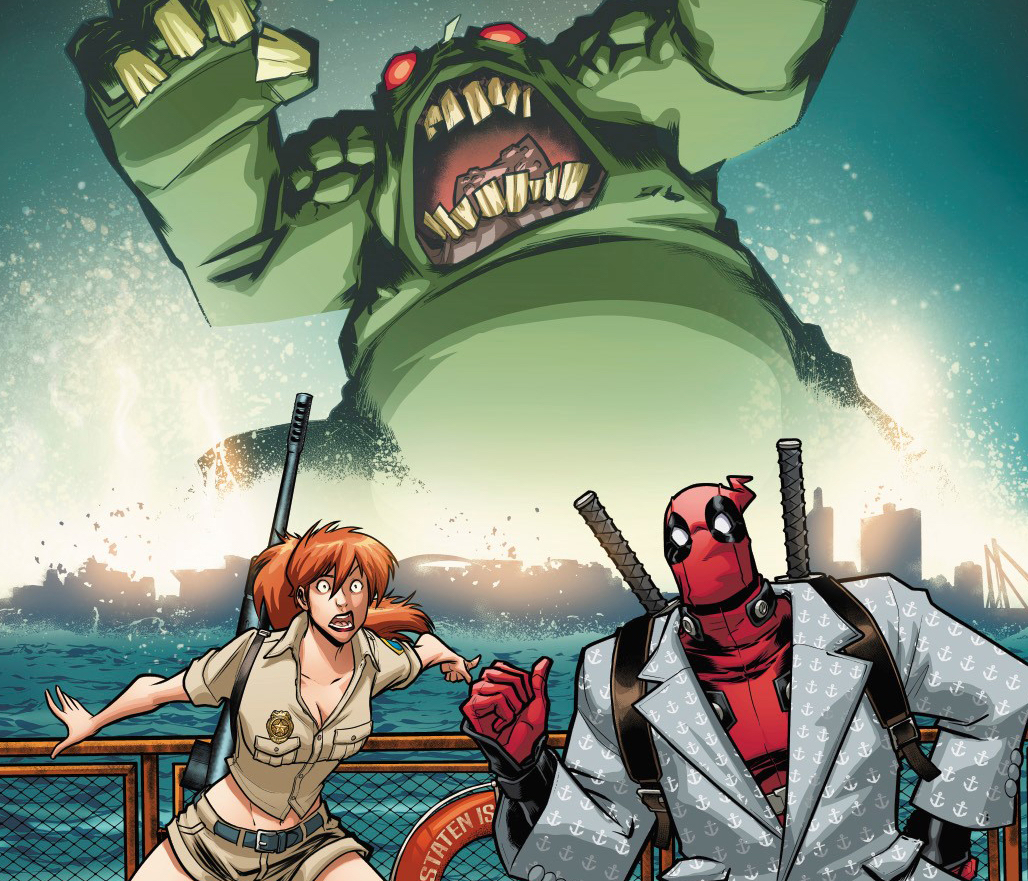 """Deadpool #1 teaser delivers postcard to """"See you soon on Monster Island"""""""