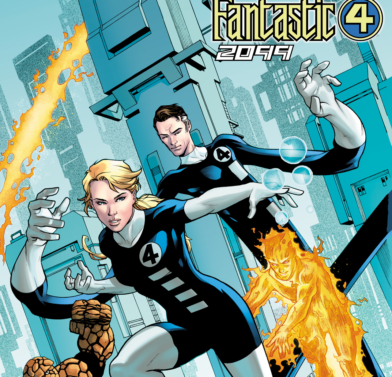 EXCLUSIVE Marvel First Look: Fantastic Four 2099 #1 variant cover