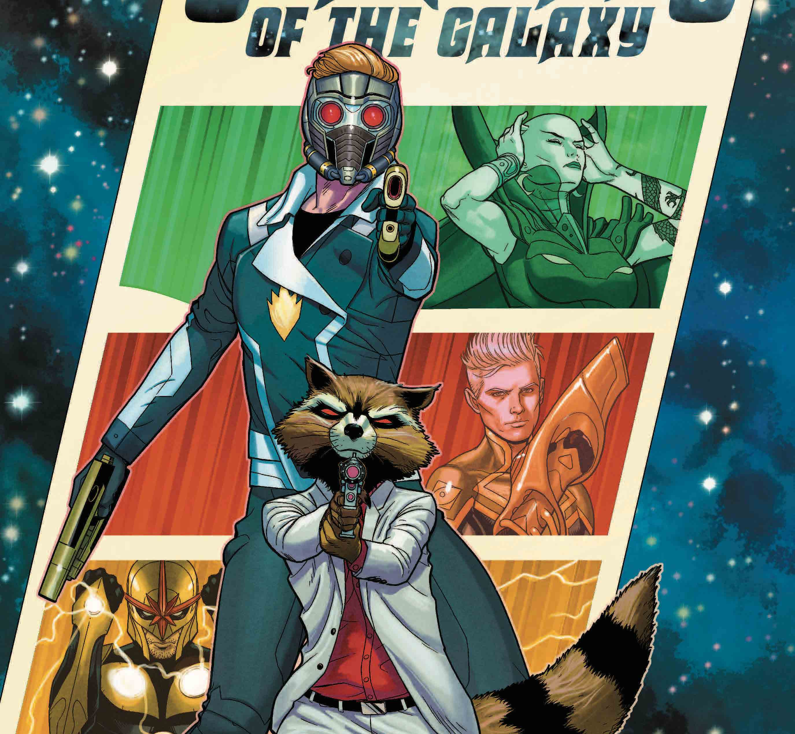NYCC '19: Guardians of the Galaxy gets new creative team January 2020