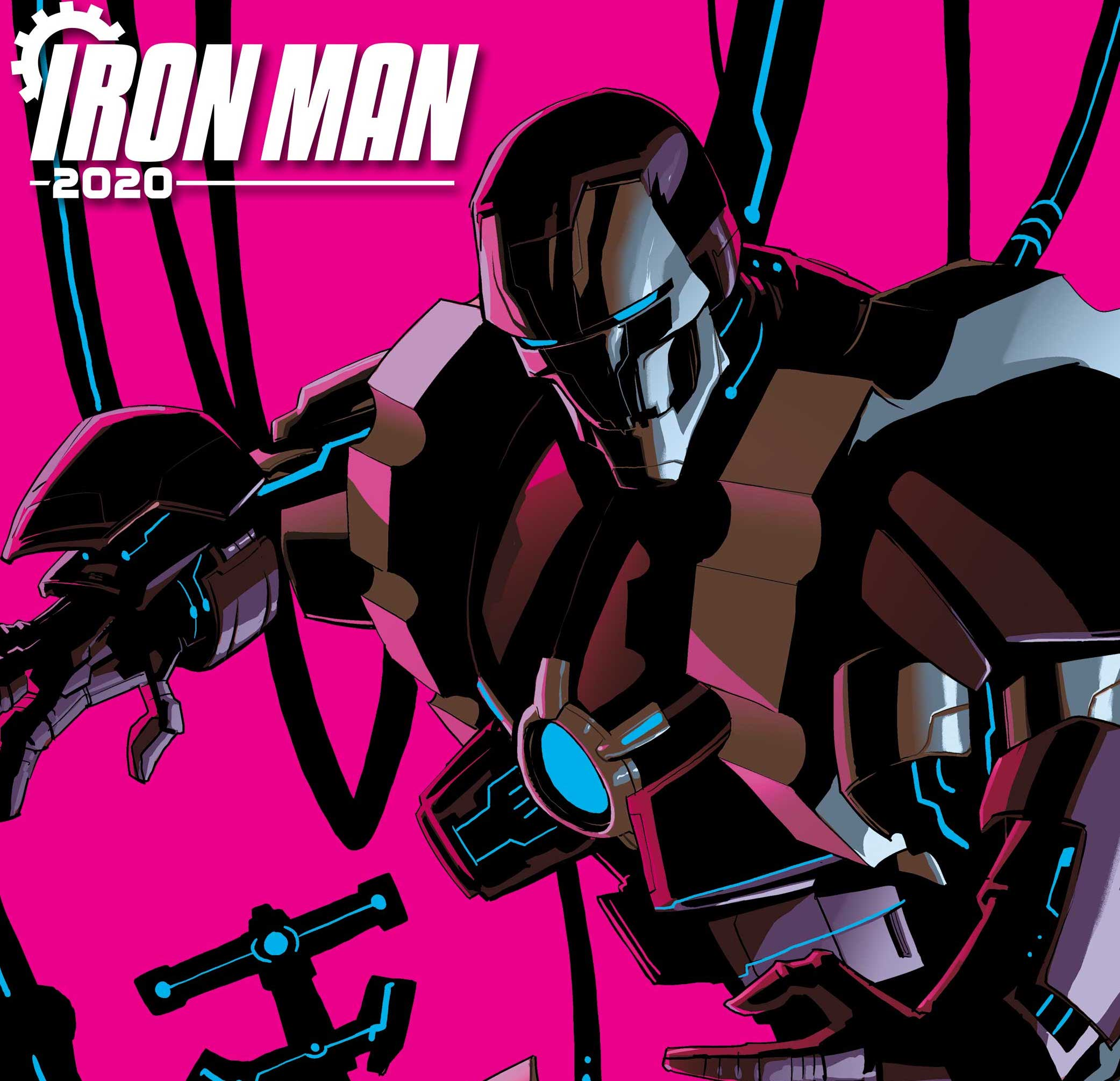 NYCC '19: Iron Man 2020 event drops January 2020 from Dan Slott, Christos Gage and Pete Woods