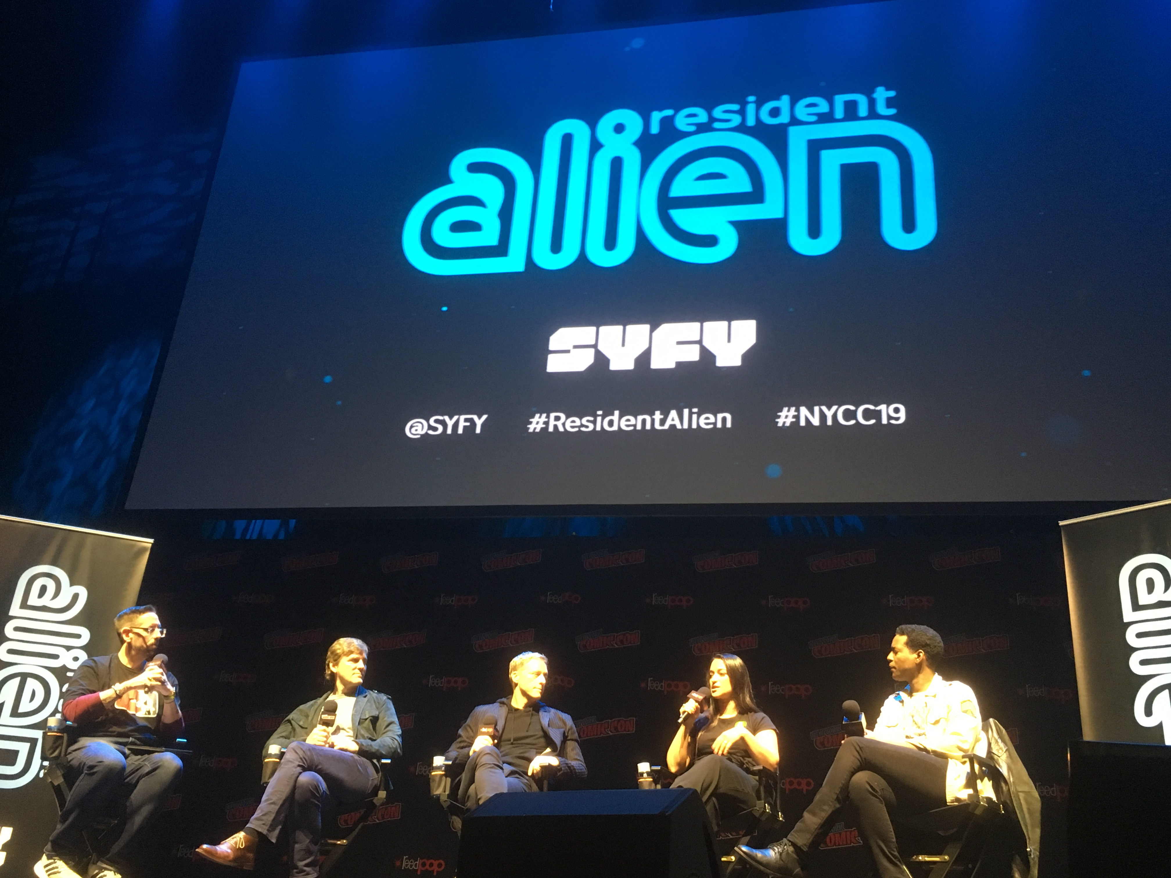 NYCC '19: Alan Tudyk finds a new space ship to crash in SYFY's 'Resident Alien'