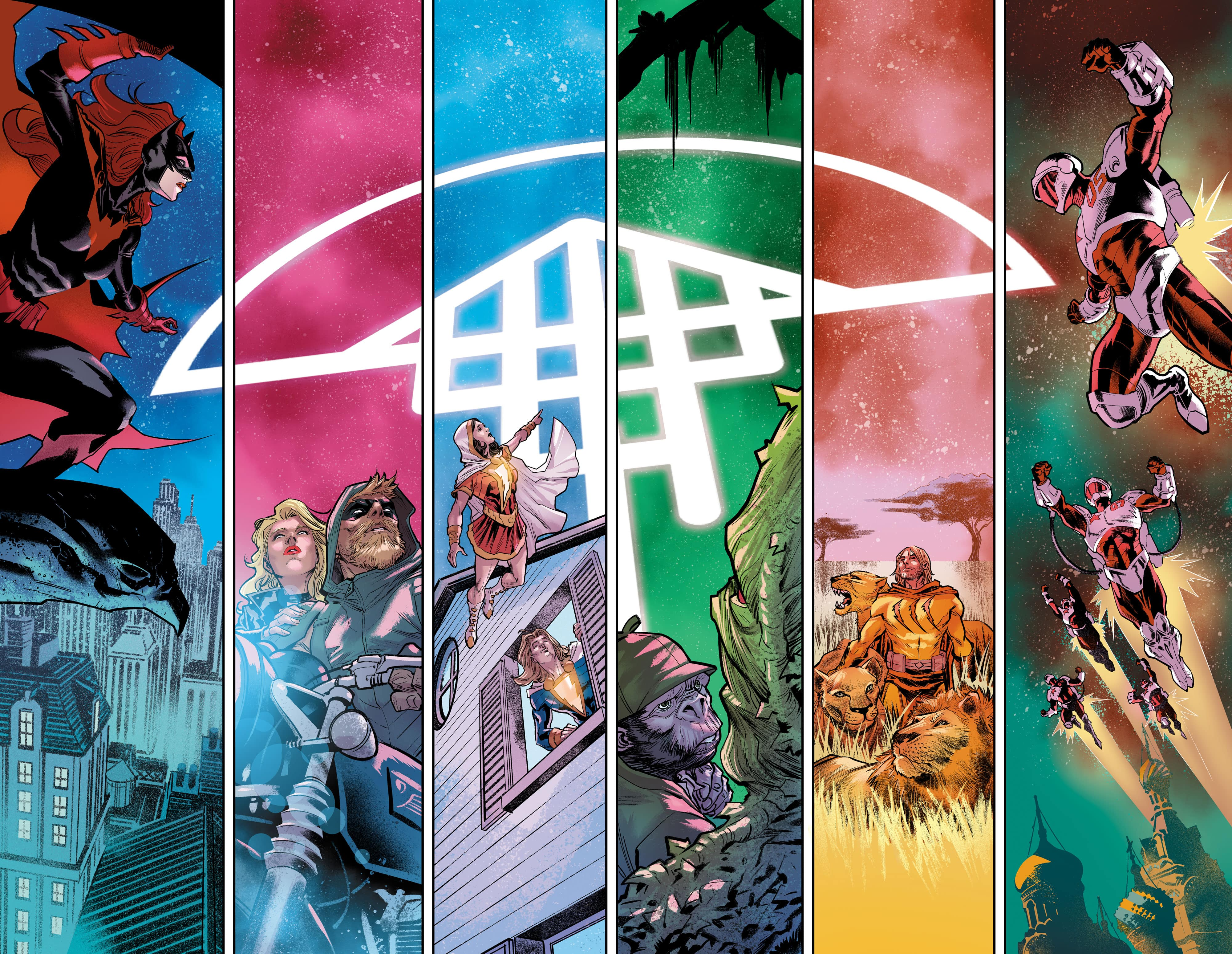 First look at Francis Manapul's art in Justice League #35