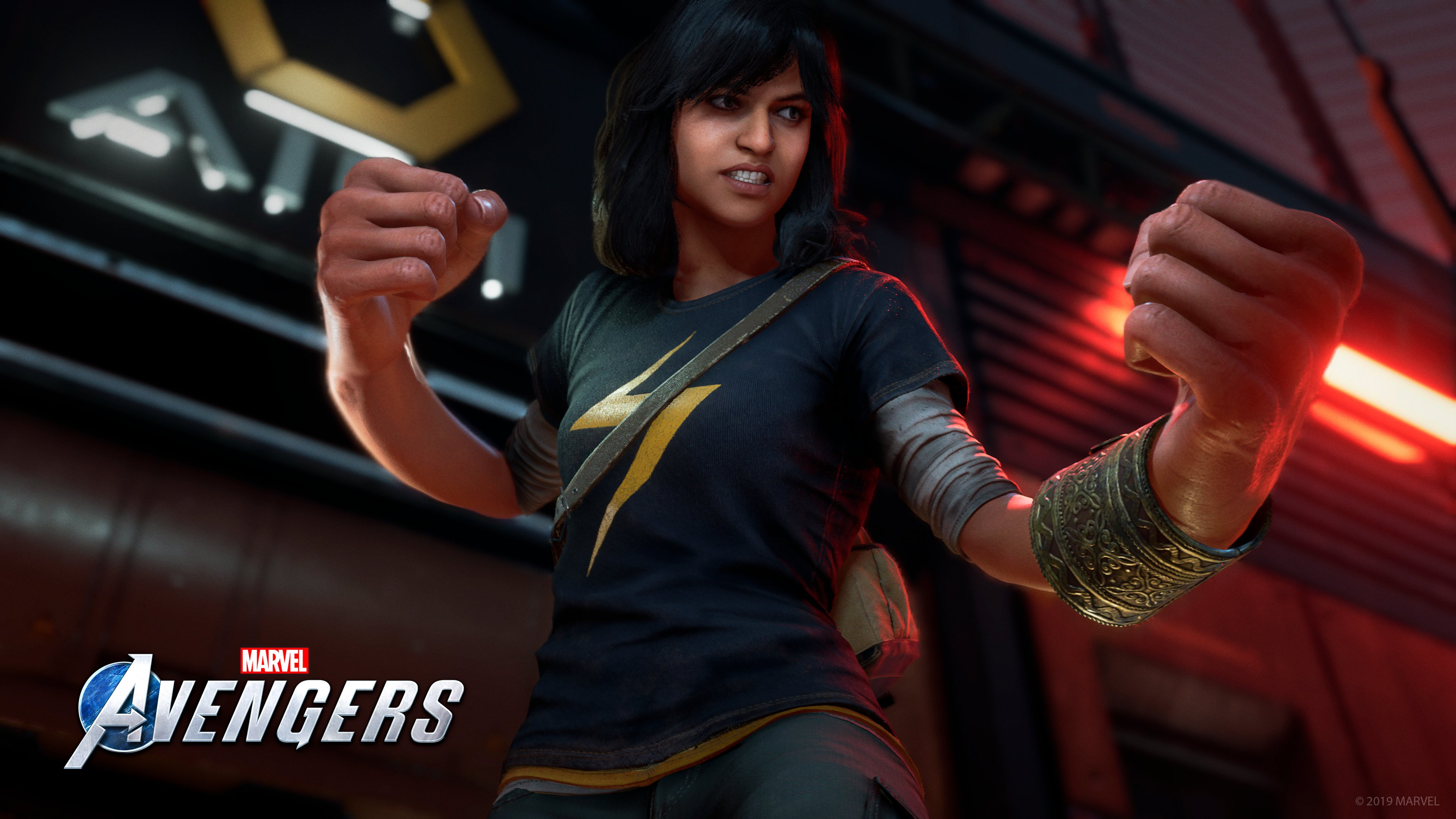 Ms. Marvel will be playable in 'Marvel's The Avengers' video game