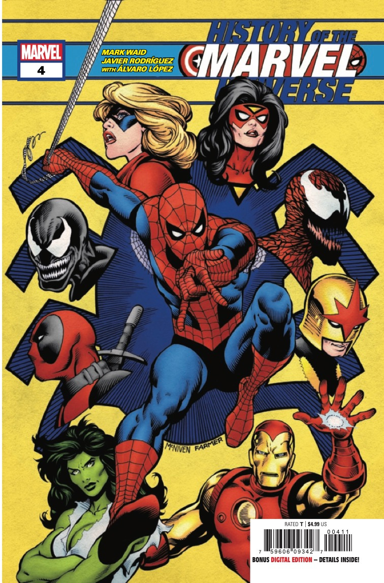 Marvel Preview: History of the Marvel Universe #4