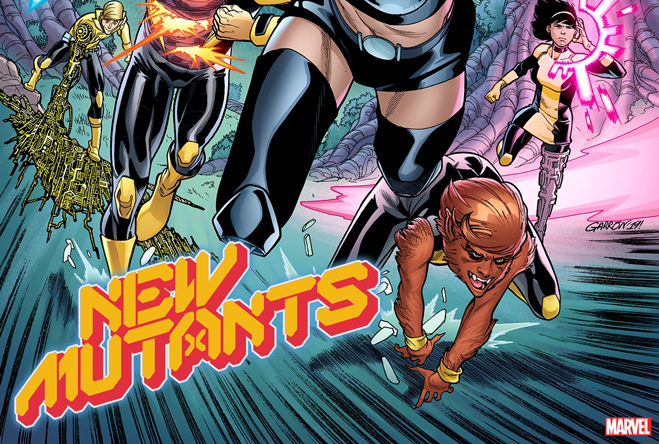EXCLUSIVE Marvel First Look: New Mutants #1 variant by Javier Garrón and Laura Martin