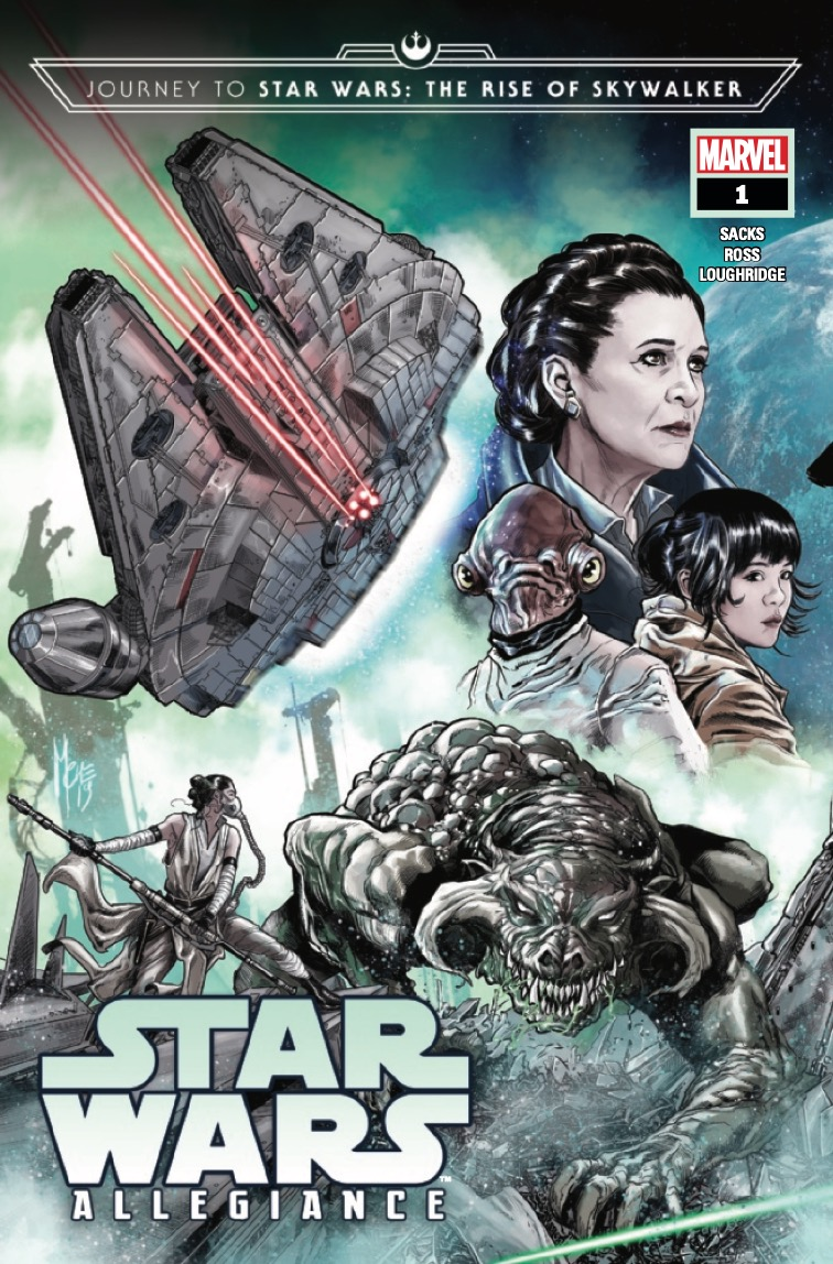 Marvel Preview: Journey To Star Wars: The Rise Of Skywalker - Allegiance #1