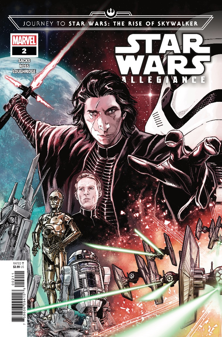 Marvel Preview: Journey to Star Wars: The Rise of Skywalker - Allegiance #2
