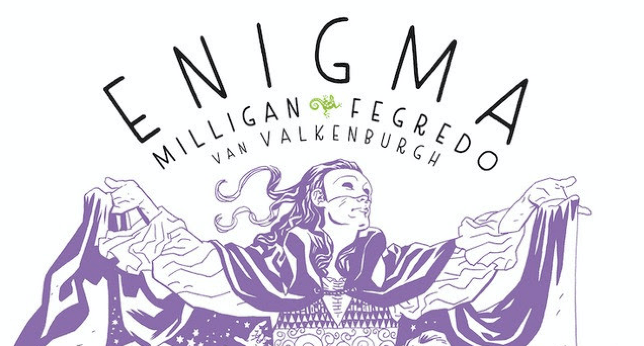 NYCC 2019: Berger Books announce release of 'Enigma' hardcover