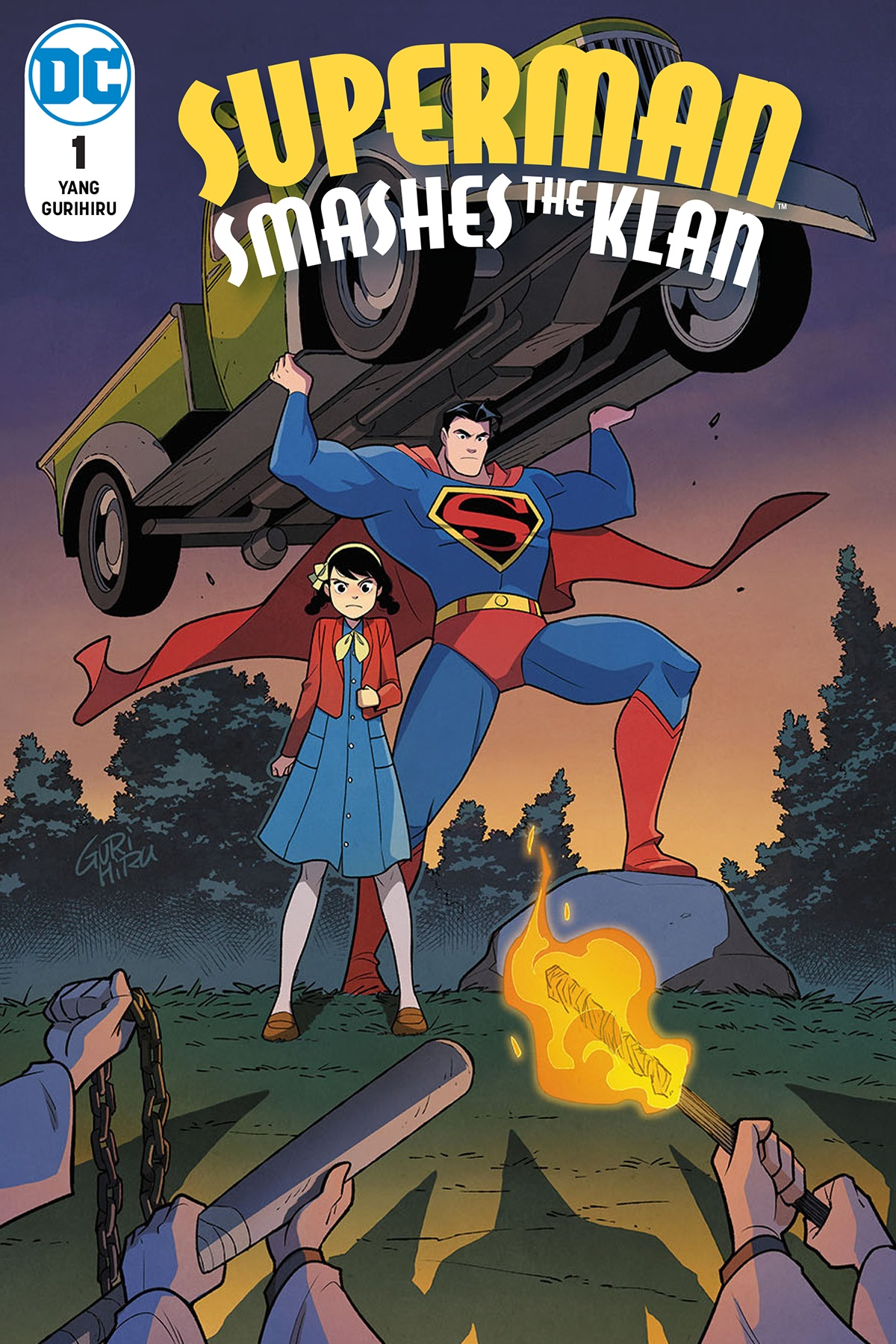 Superman Smashes the Klan #1 Review