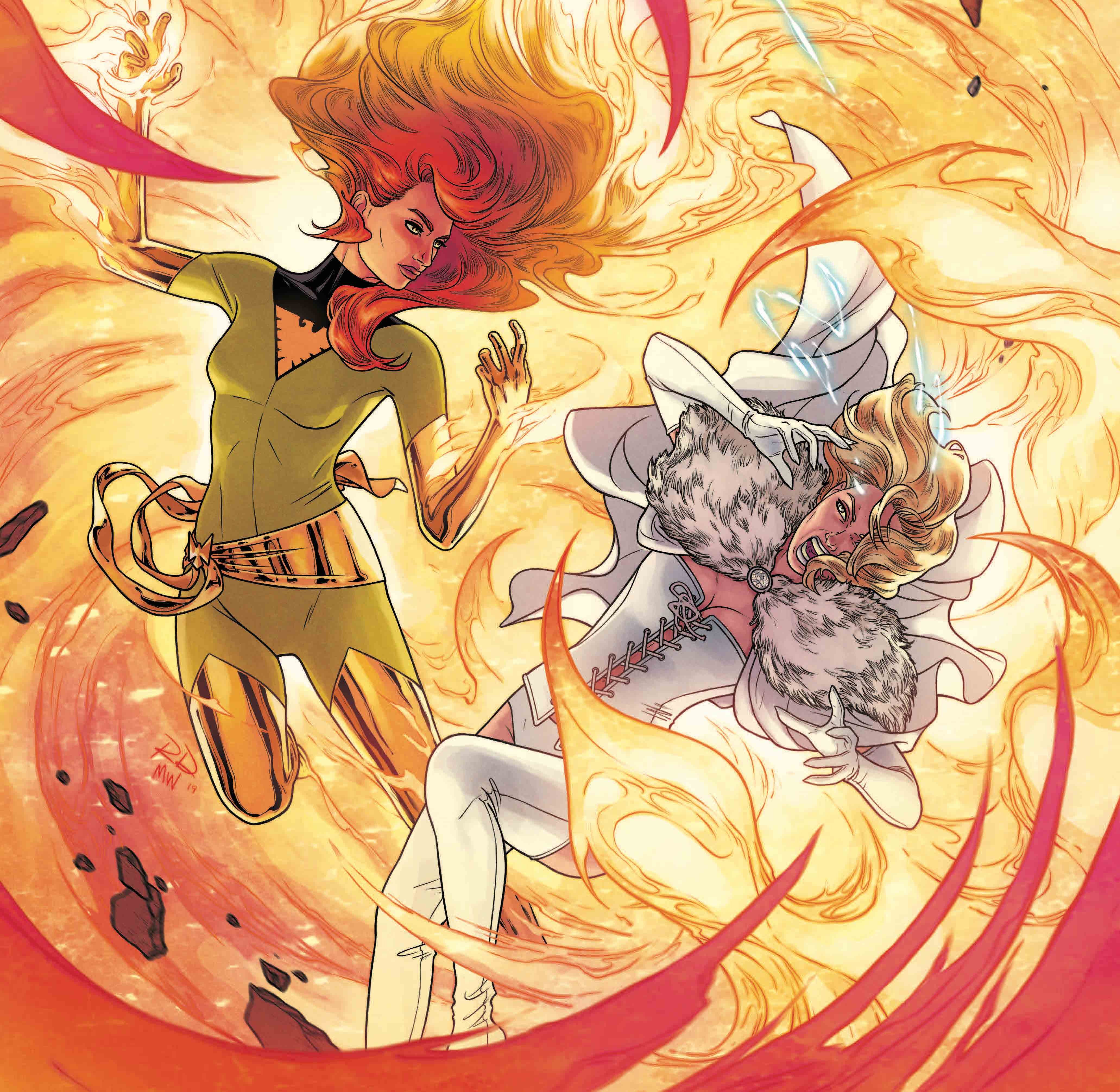 New variant covers coming giving Jean Grey's Phoenix all the attention.