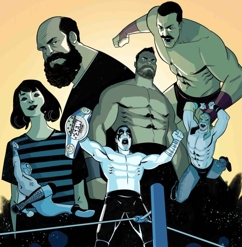 Jay Sandlin's 'Over the Ropes' brings wrestling and comic fans in and out of the ring
