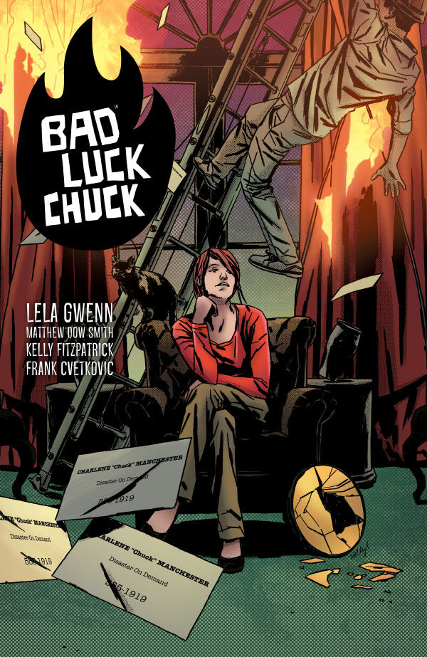 'Bad Luck Chuck' TPB review: For good fortunes, avoid this book