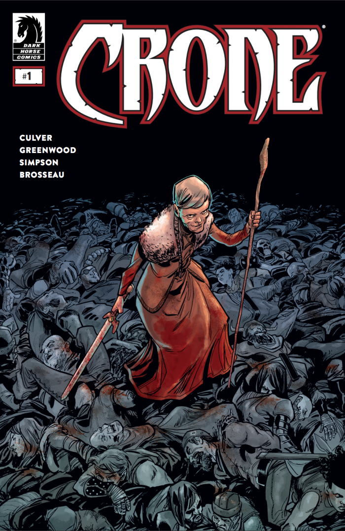 The new Dark Horse series follows a badass warrior as she re-assumes her blood-soaked mantle.