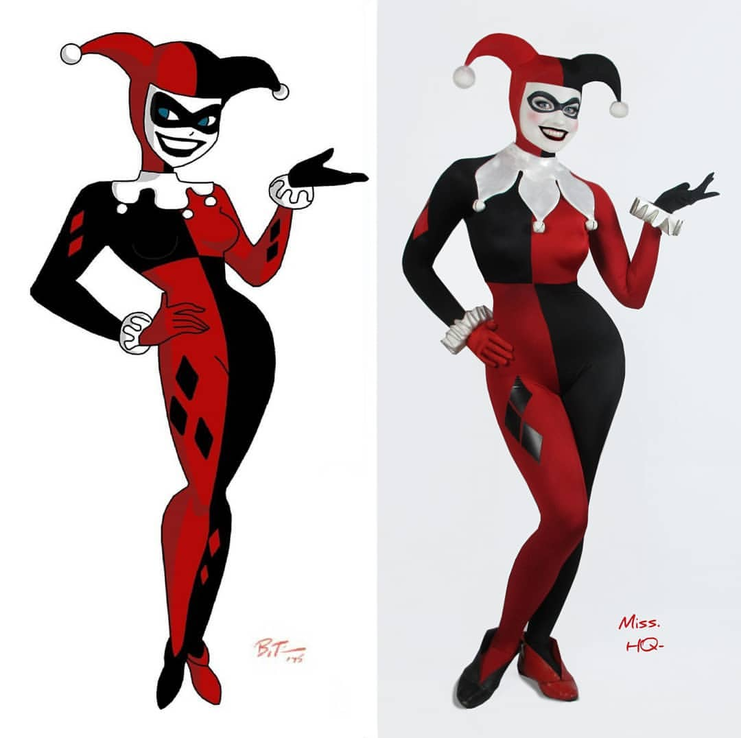 """This Harley Quinn from Batman: TAS cosplay is so spot-on, we can hear the """"Mistah J"""" in our heads already."""