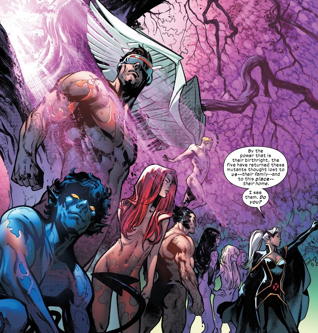 A new X-Men series centered around resurrections is coming next year