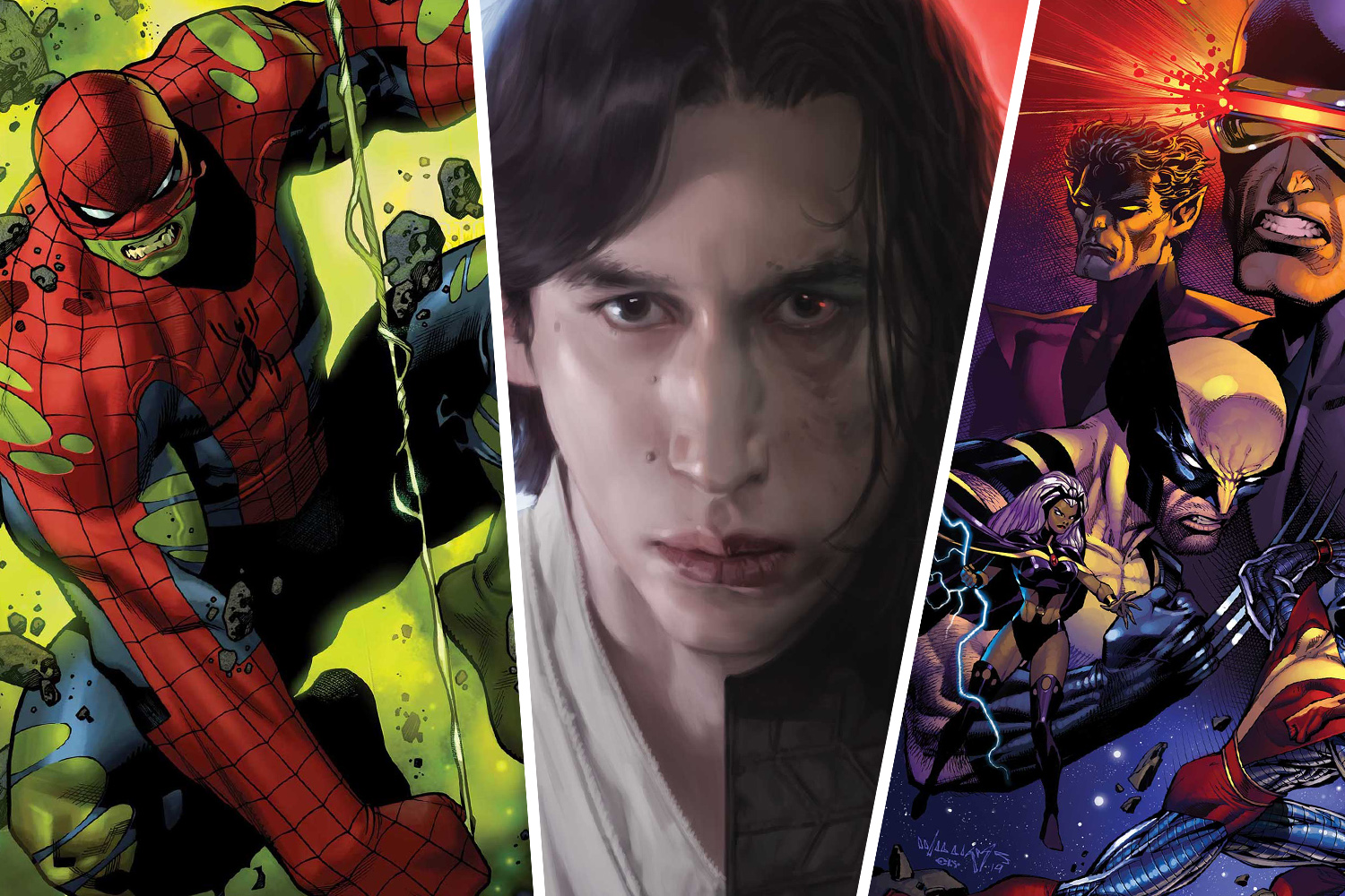Star Wars and X-Men heat up and...Hulk becomes Spider-Man?!